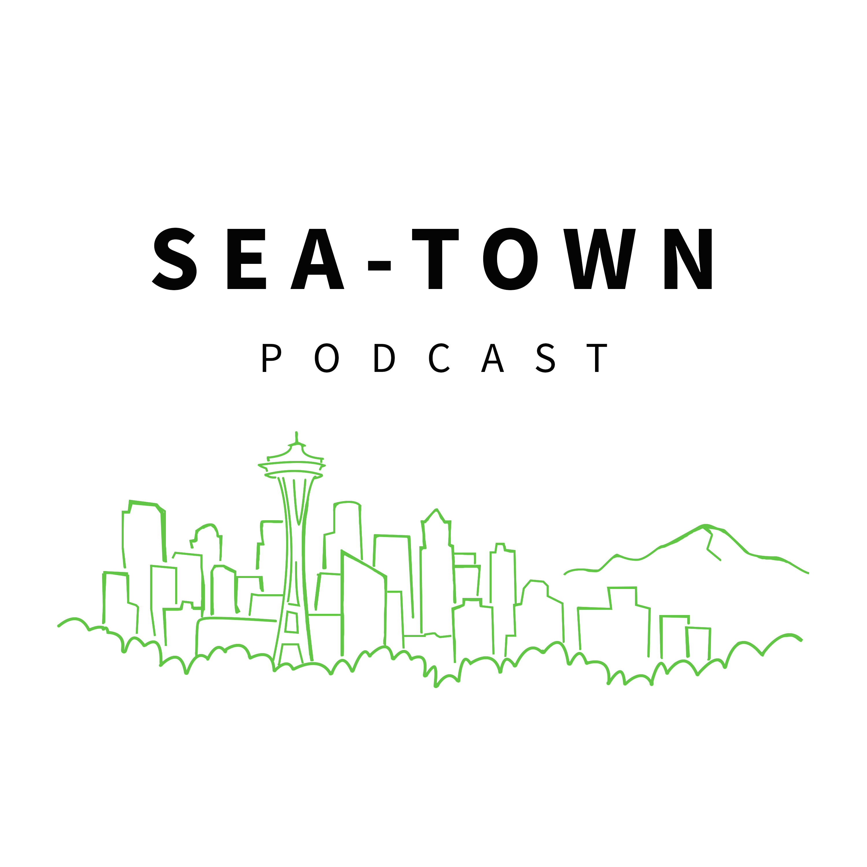 THE SEA-TOWN PODCAST: Interviewing Seattle's Business Leaders and Entrepreneurs show art