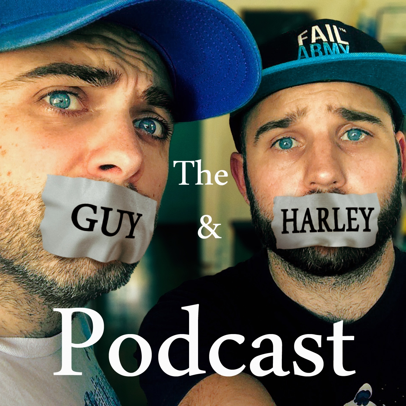 The Guy and Harley Podcast show art