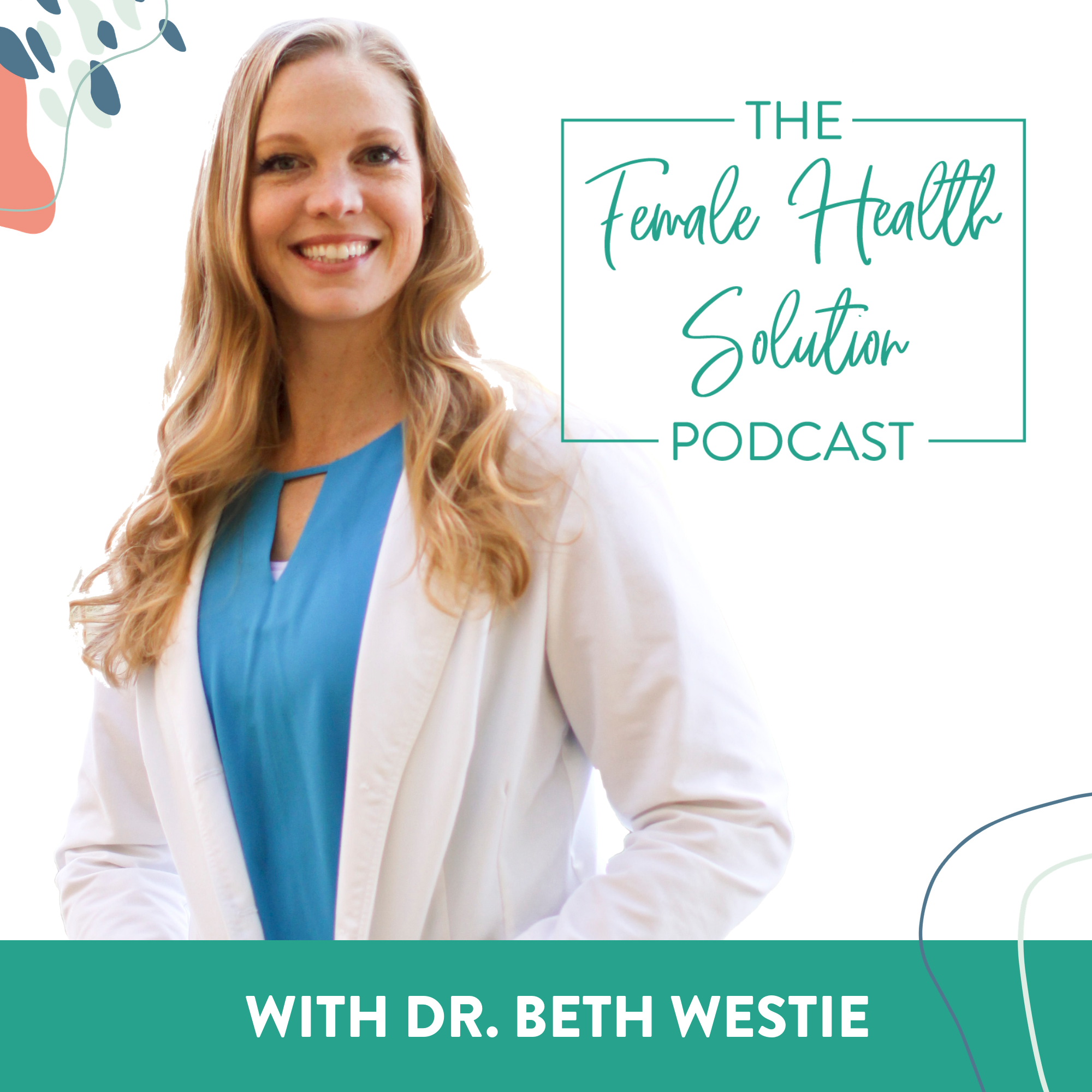 The Female Health Solution Podcast show art