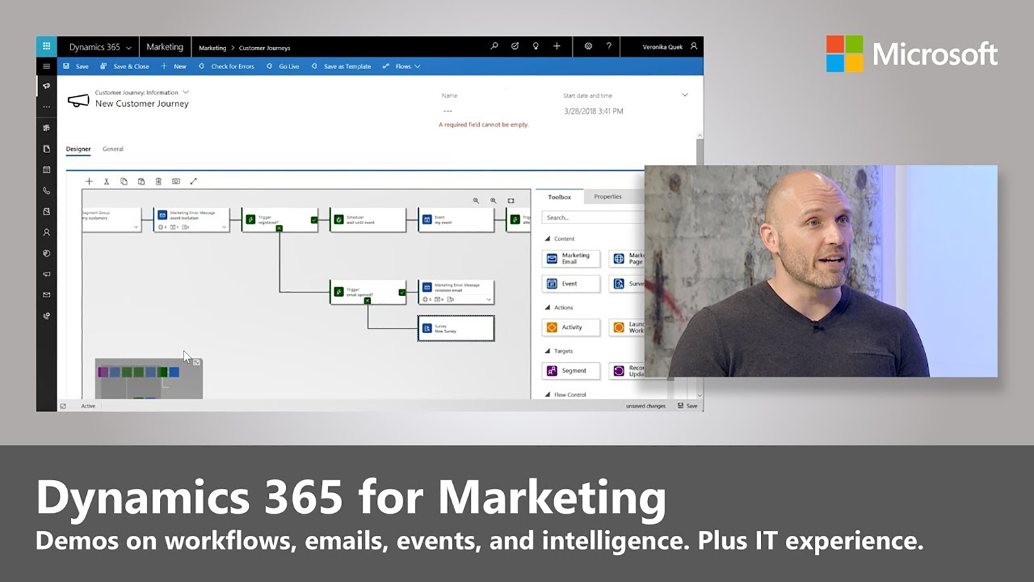 Artwork for Introducing Dynamics 365 for Marketing