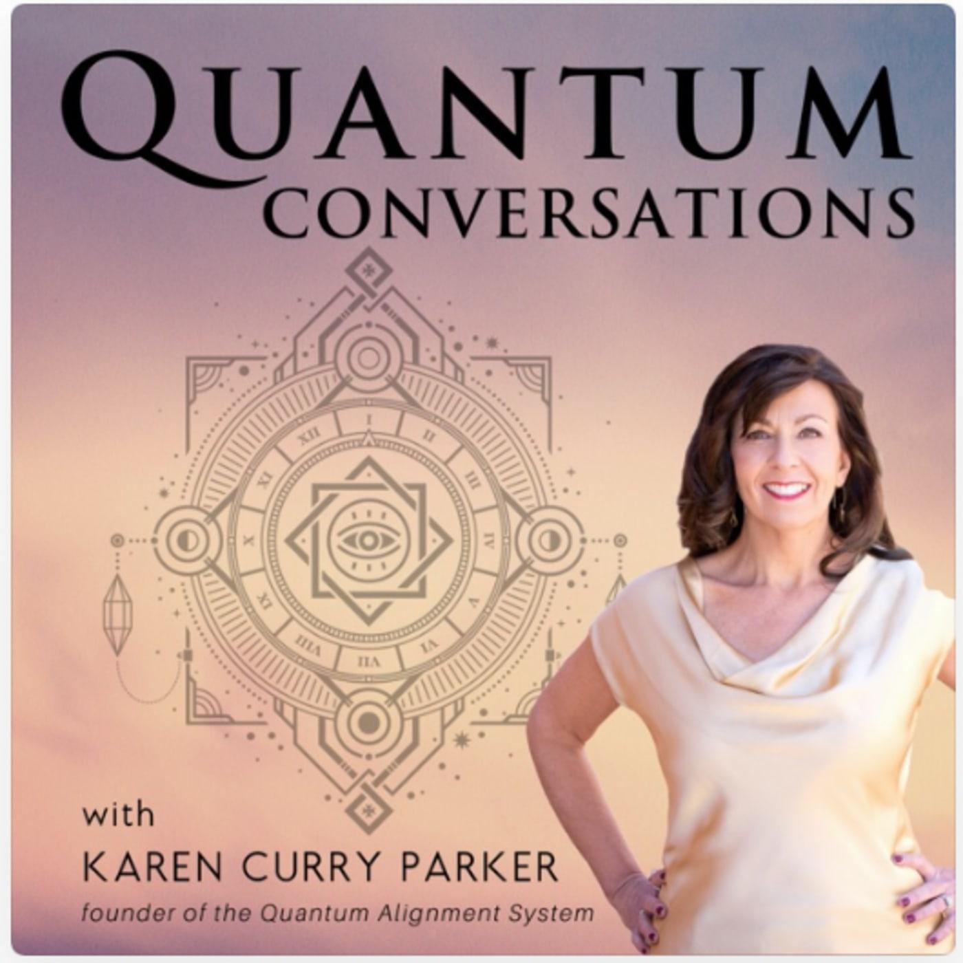 Quantum Conversations: With Karen Curry Parker show art
