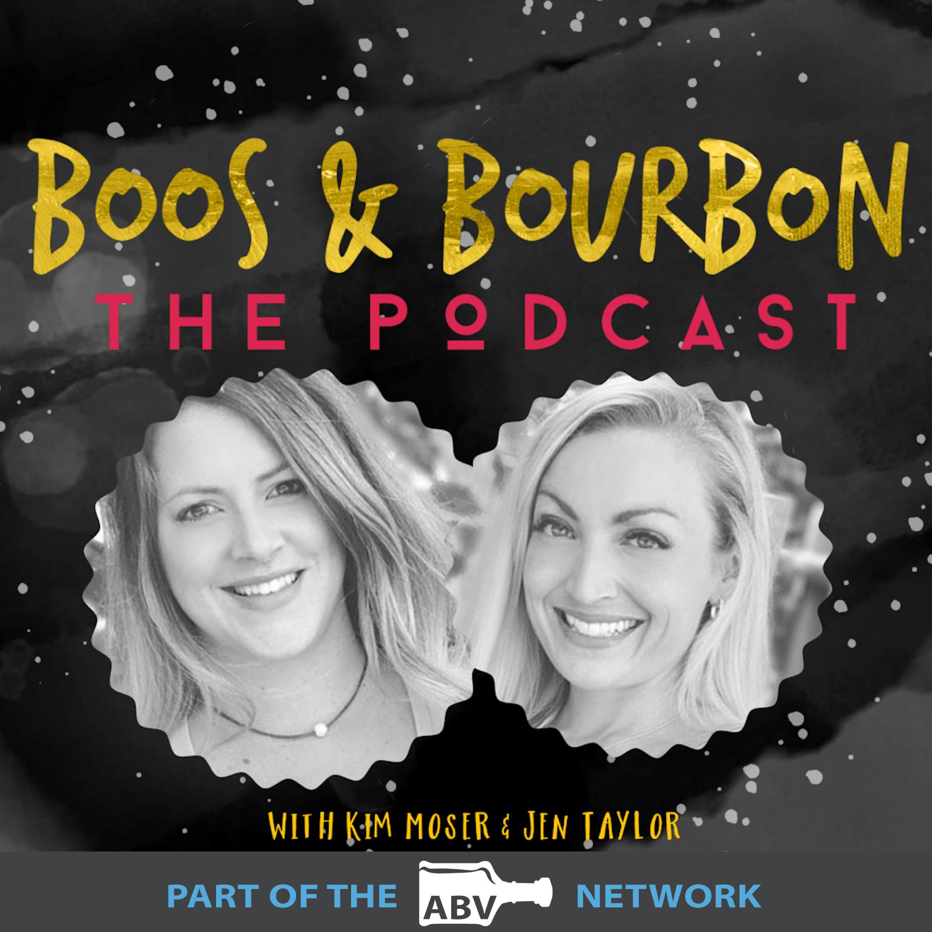 Boos & Bourbon - The Podcast show art