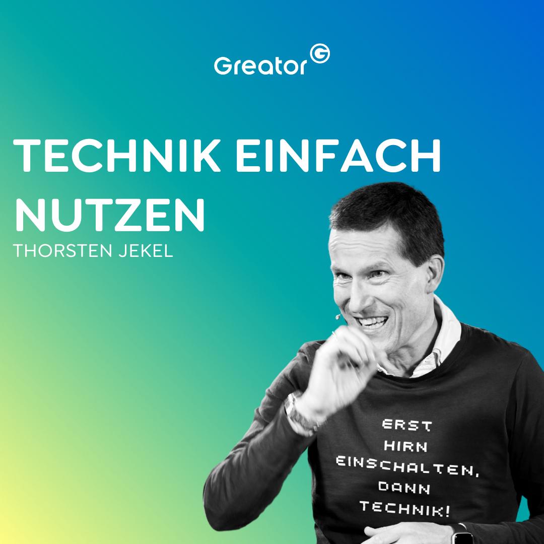 #778 Neue Dinge ausprobieren: So geht Digitalisierung in der Arbeitswelt // Thorsten Jekel