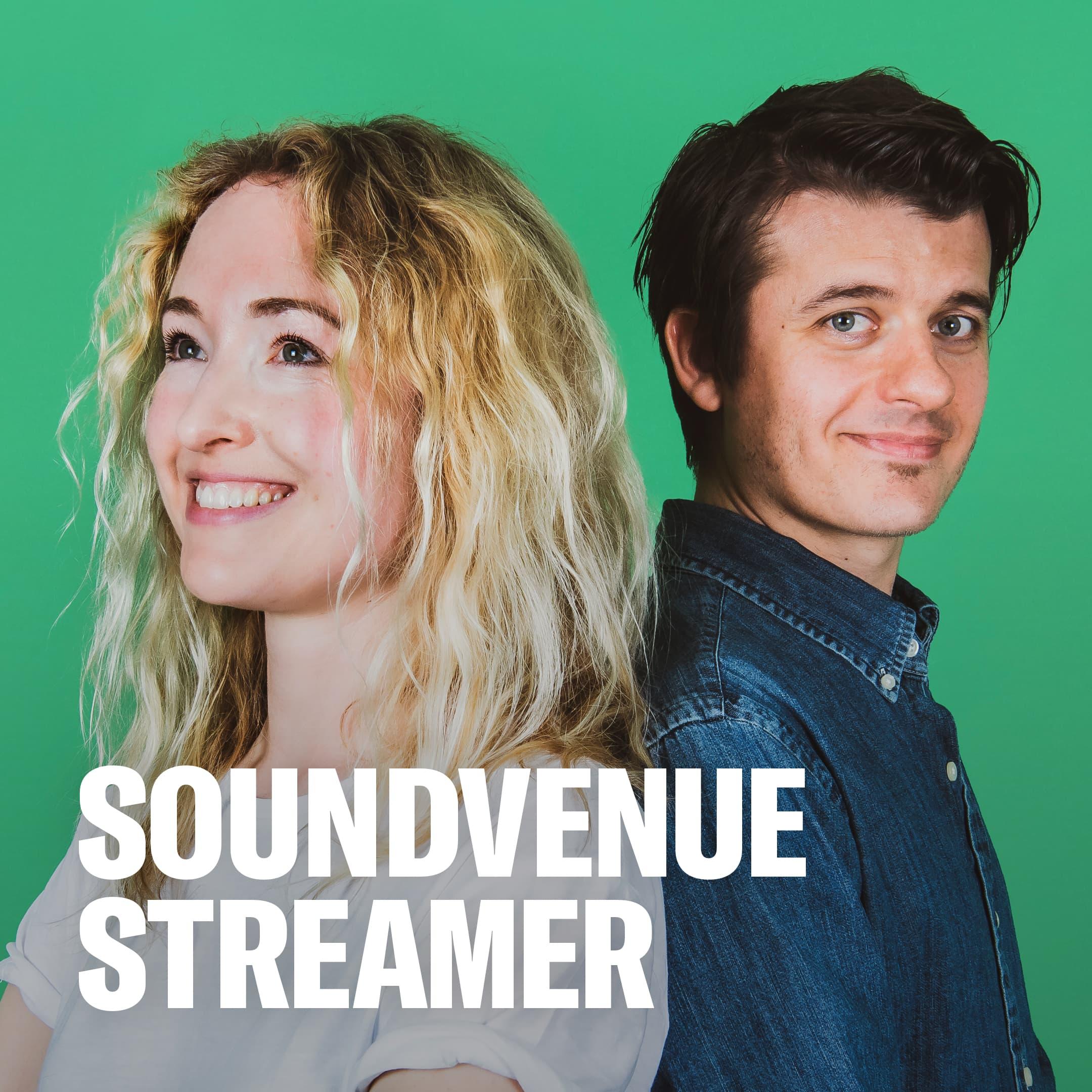Soundvenue streamer show art