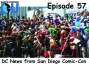 Artwork for The Earth Station DCU Episode 57 – DC News from San Diego Comic-Con