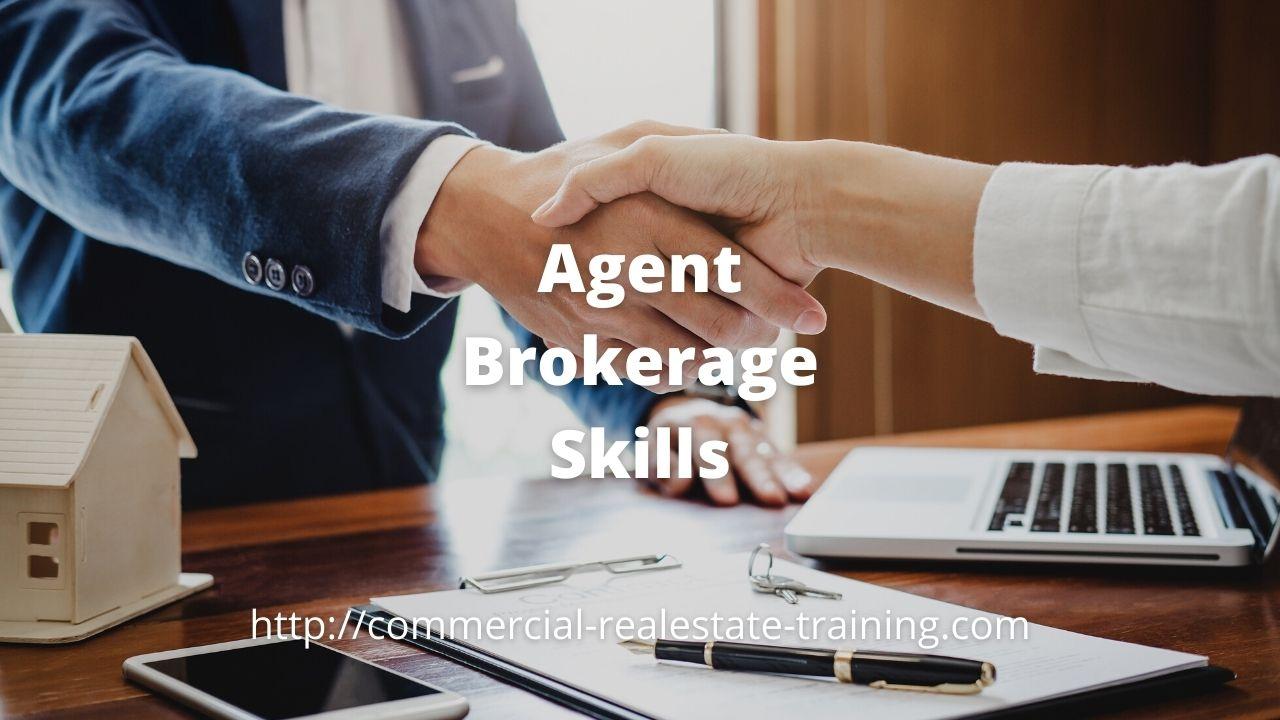 real estate agent handshake