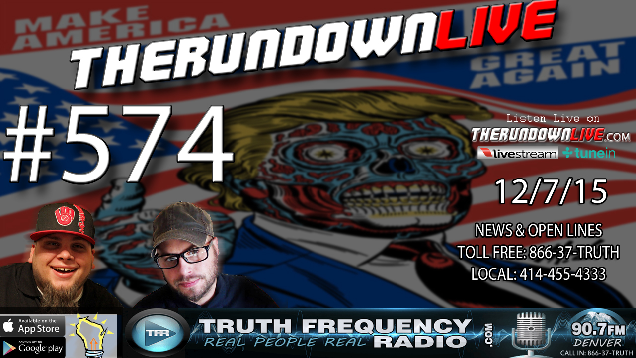 The Rundown Live #574 (Packers,Fashion & Music,Transhumanism)