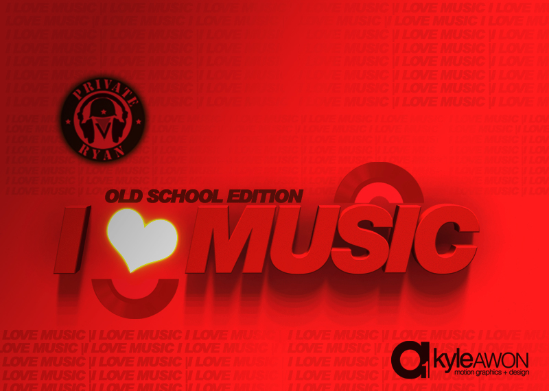 Private Ryan Presents I Love Music Vol 1. (Throwback Edition)