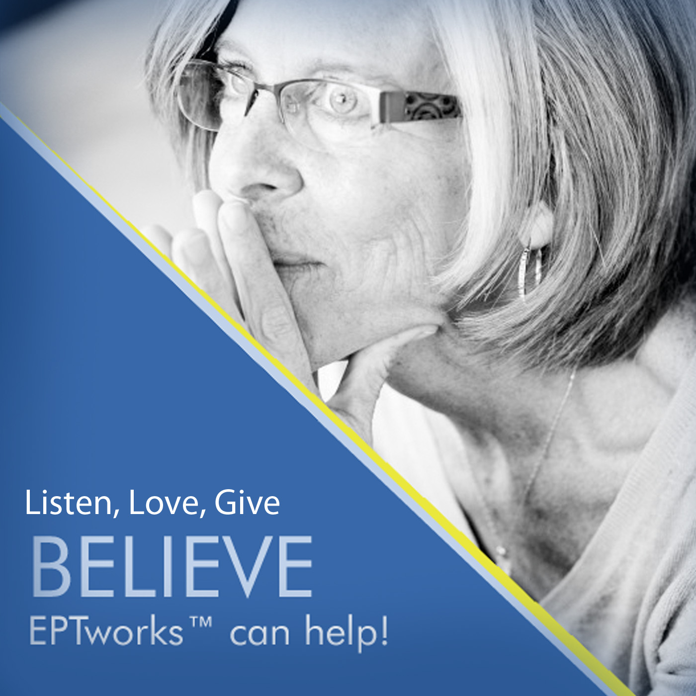 EPTworks: Listen, Love, Give Podcast show art