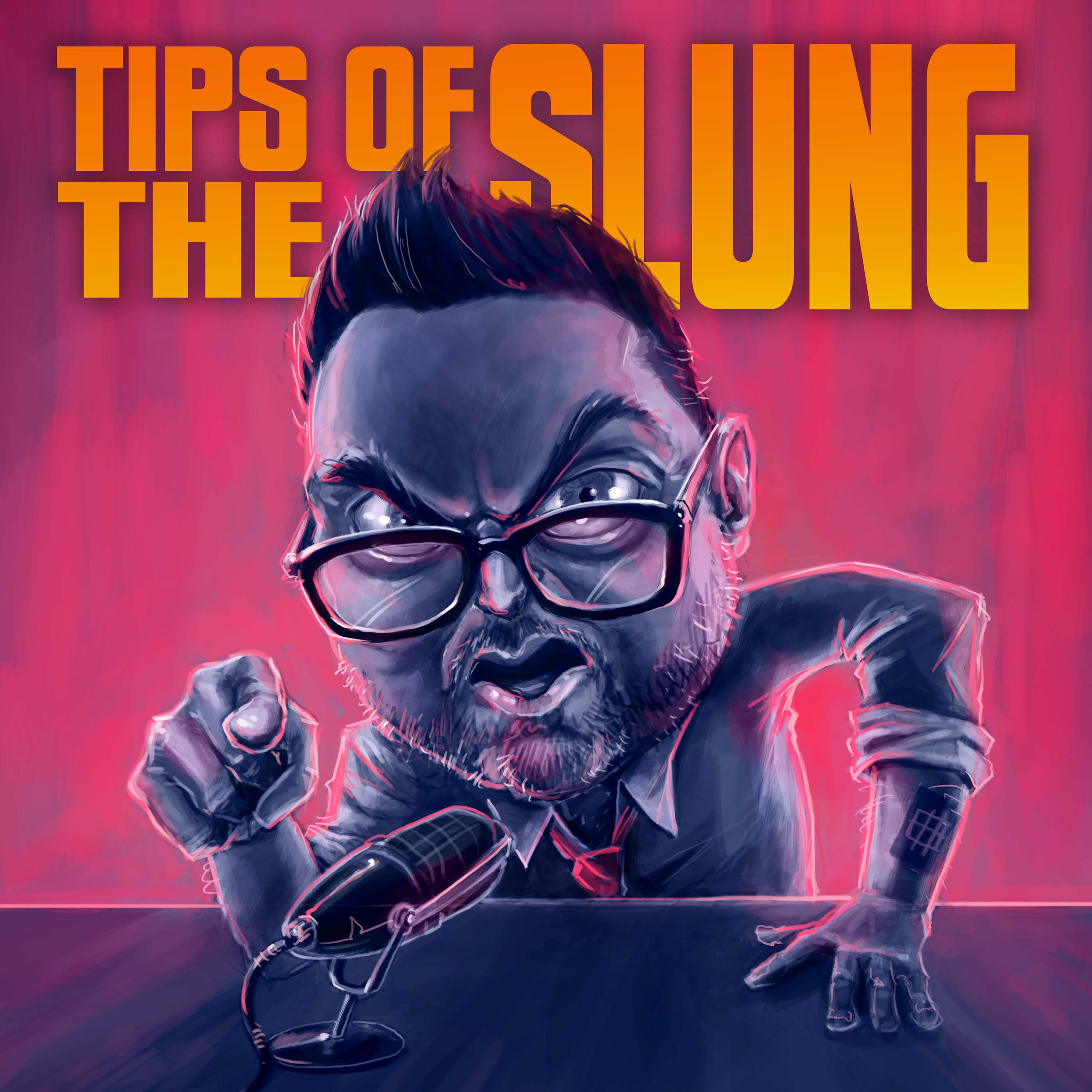Tips Of The Slung show art