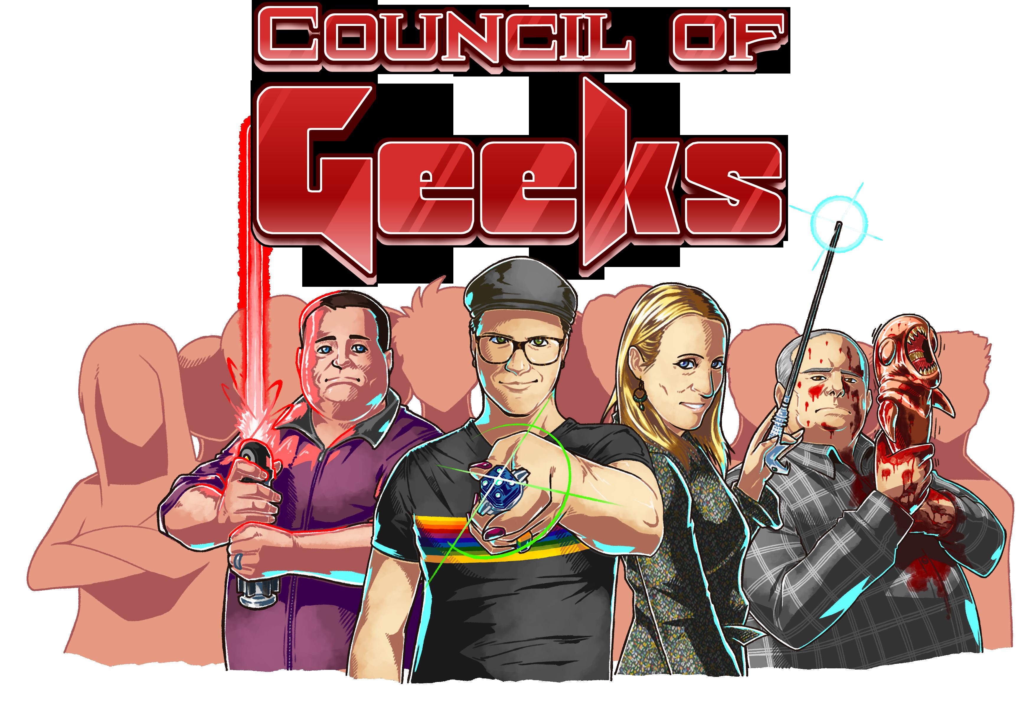 Council of Geeks show art
