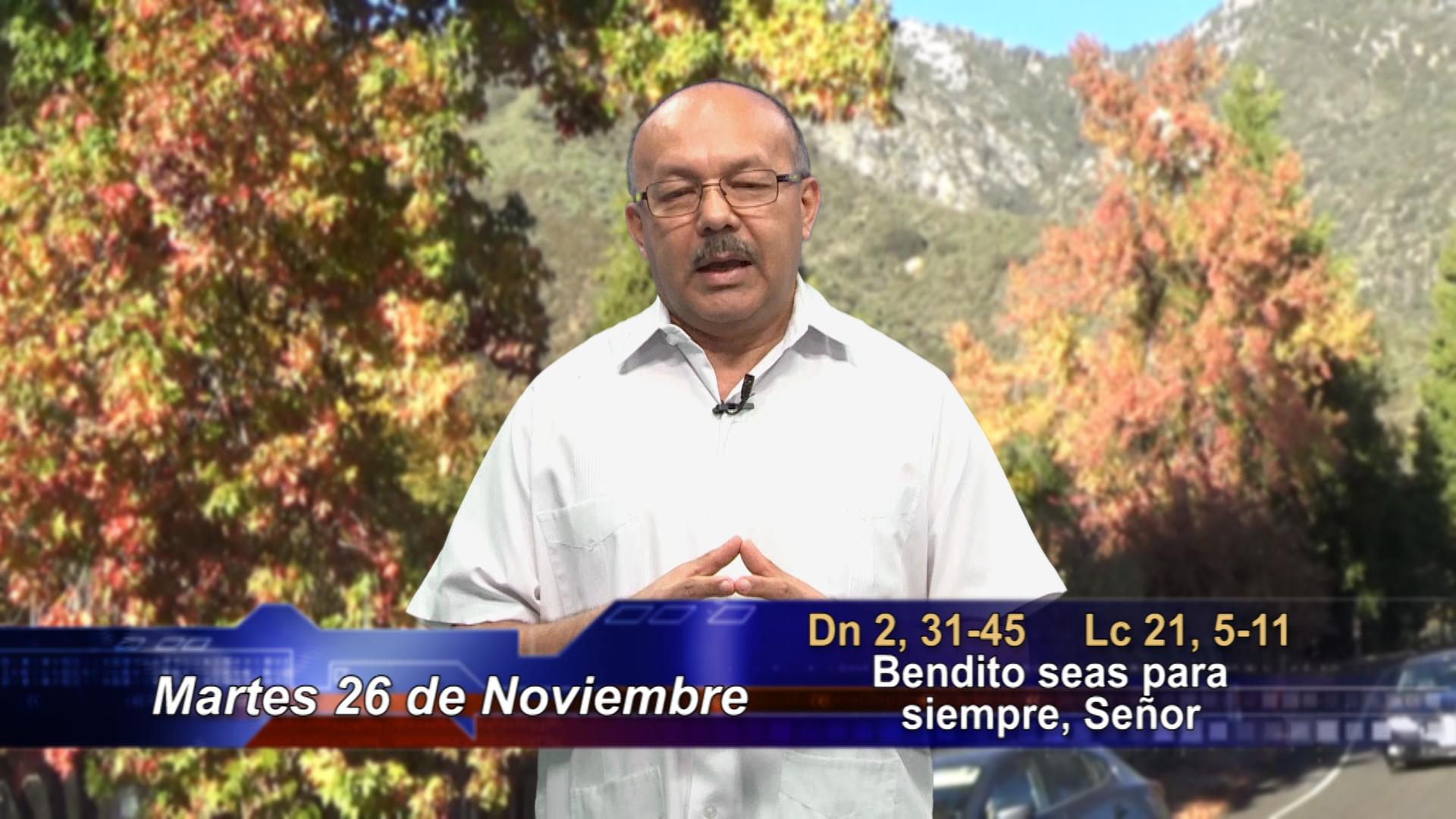 Artwork for Dios te Habla con P. Luis Antonio Vergara, SVD; Tema el hoy: Bendito seas para siempre, Señor.