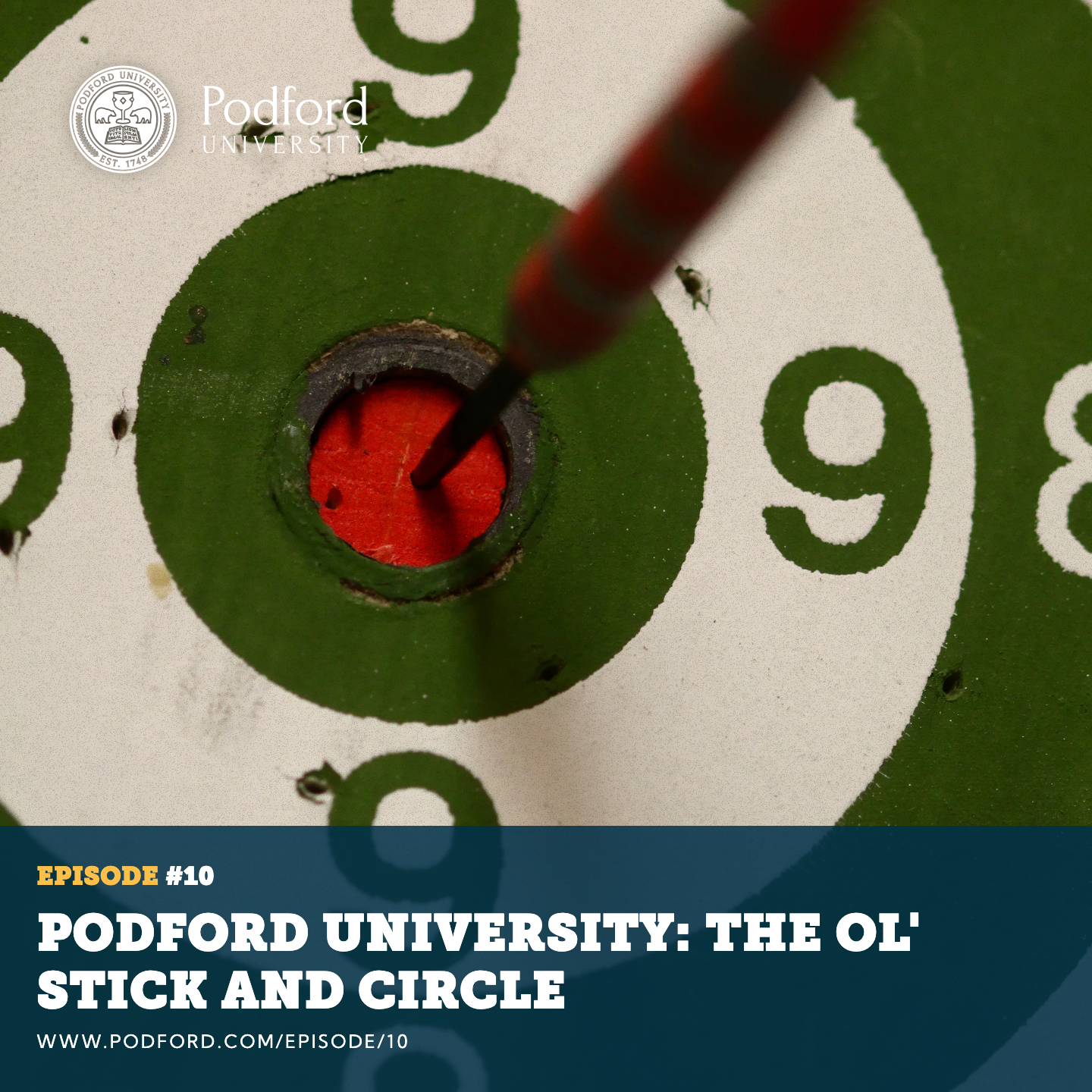 Podford University: The Ol' Stick And Circle