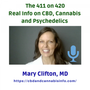 Dr. Mary's The 411 on 420: Real Info on CBD Medical Cannabis podcast