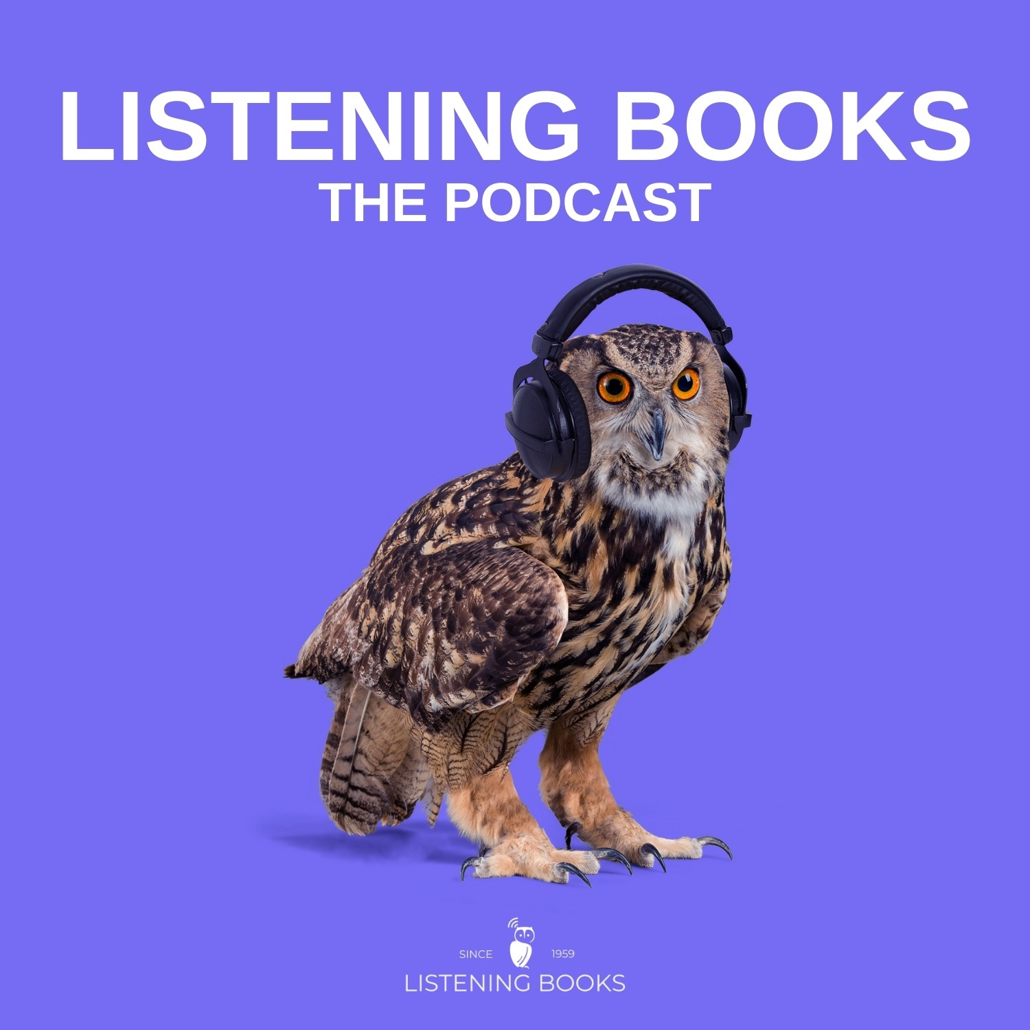 The Listening Books Podcast show art