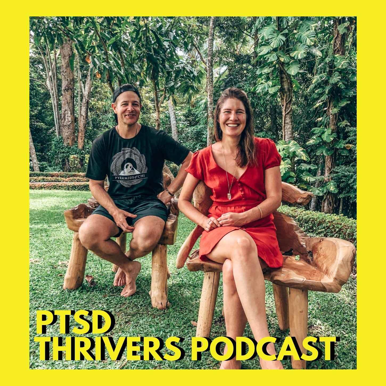 PTSD Thrivers Podcast show art