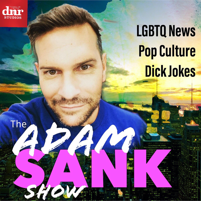The Adam Sank Show show art