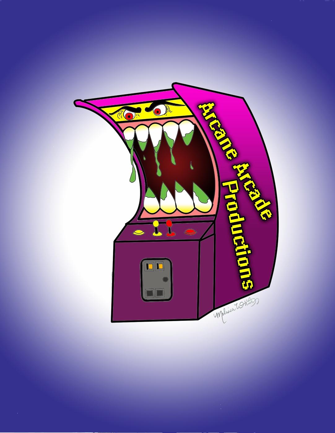 The Arcane Arcade Show logo