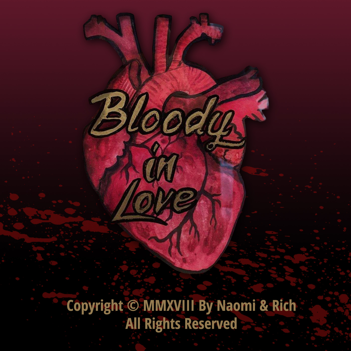 Bloody in Love - A Horror Movie Podcast show art
