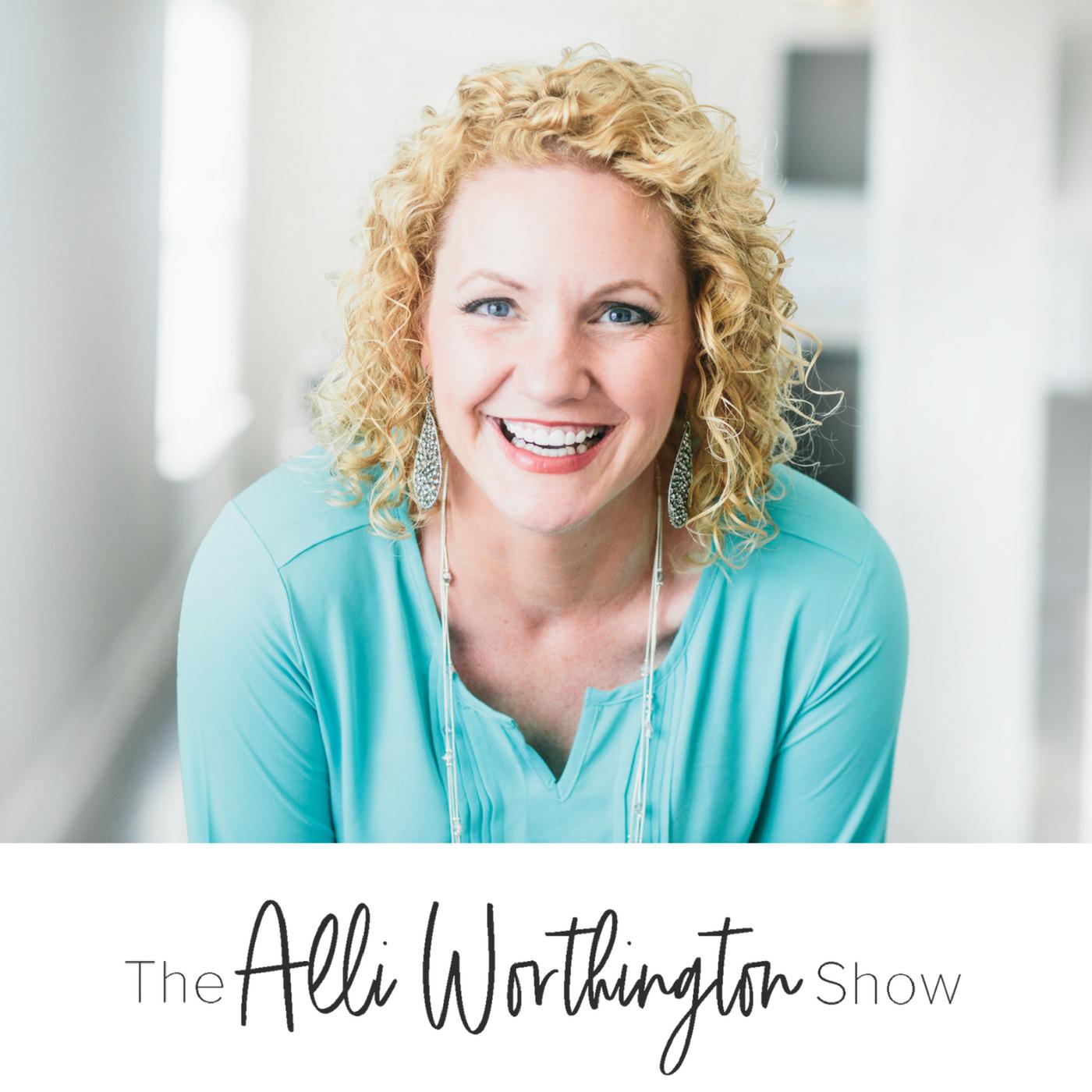 The Alli Worthington Show show art