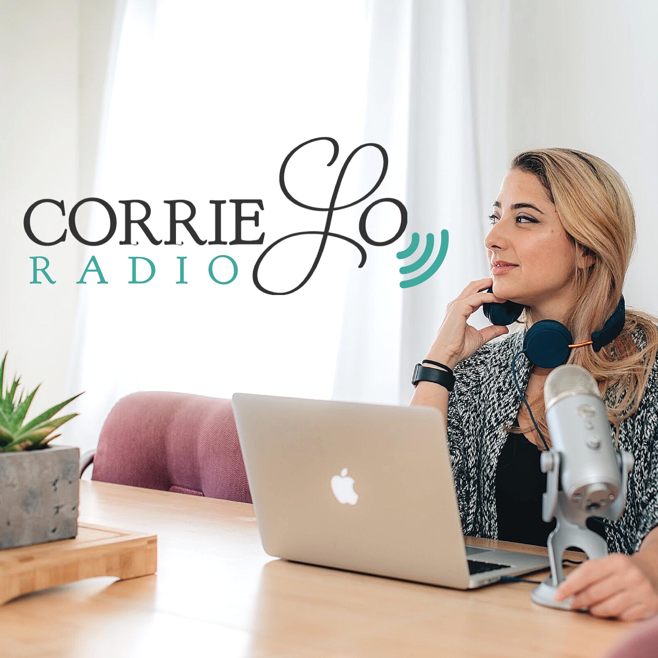 Corrie Lo Radio show art
