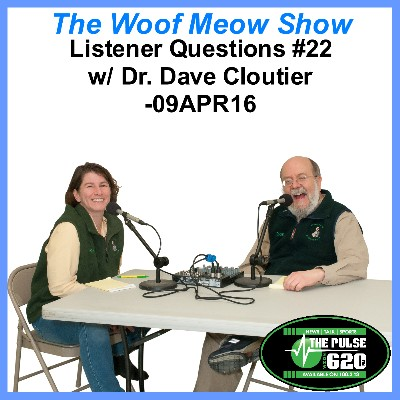 Listener Questions No. 22 with Dr. Dave Cloutier