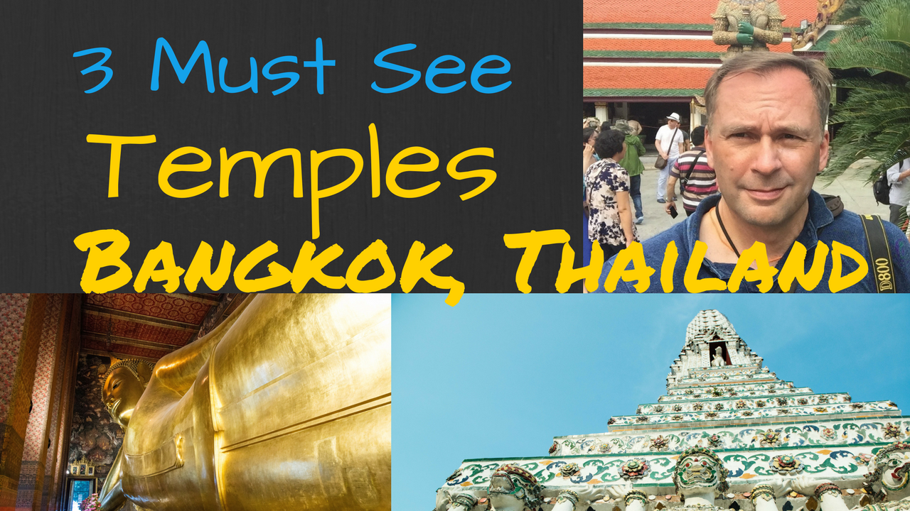 Artwork for 3 Must-See Temples In Bangkok, Thailand