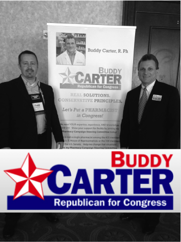 Pharmacy Podcast Episode 137 Budy Carter for Congress