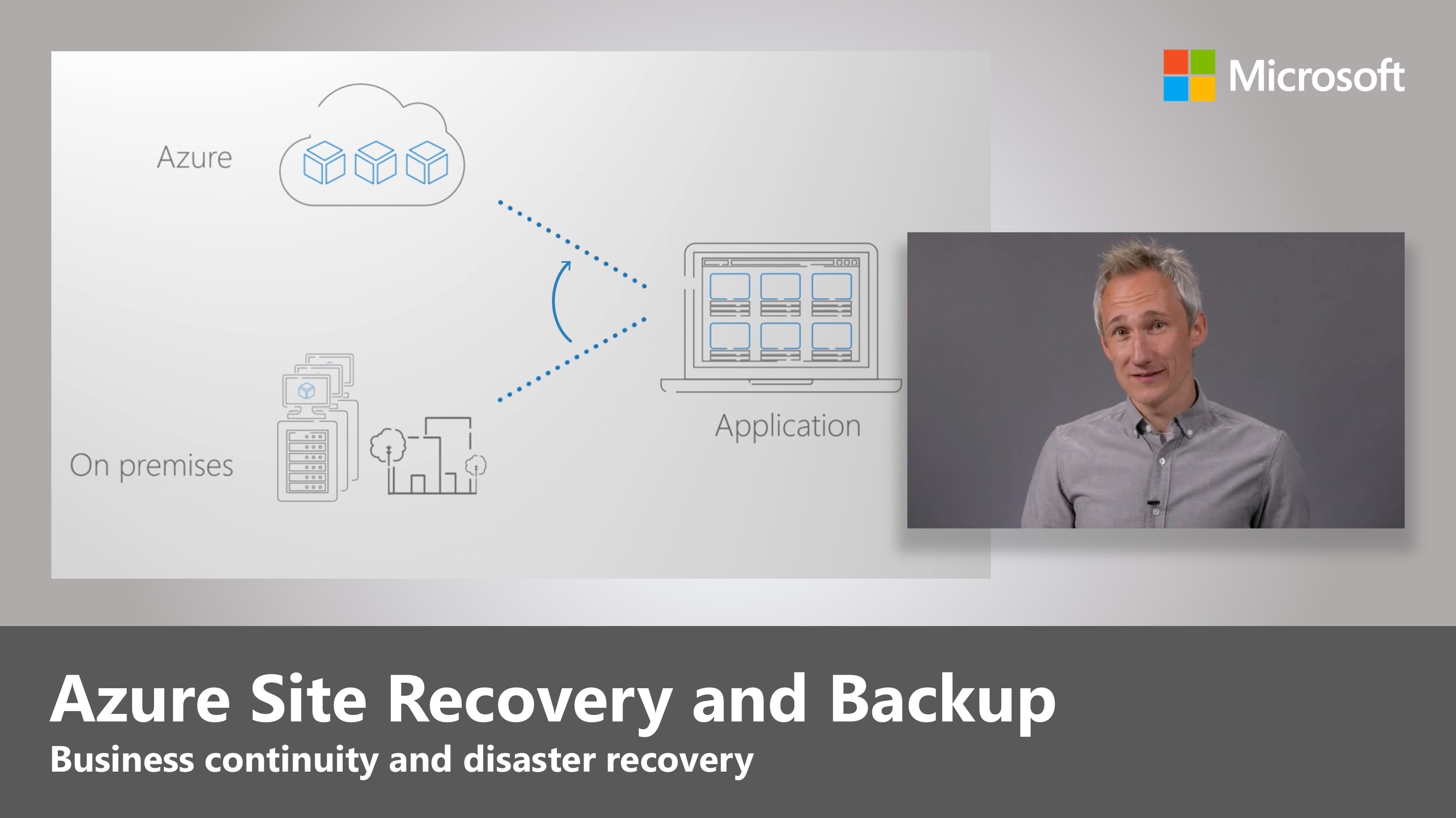 Artwork for An overview of business continuity and disaster recovery with Microsoft Azure