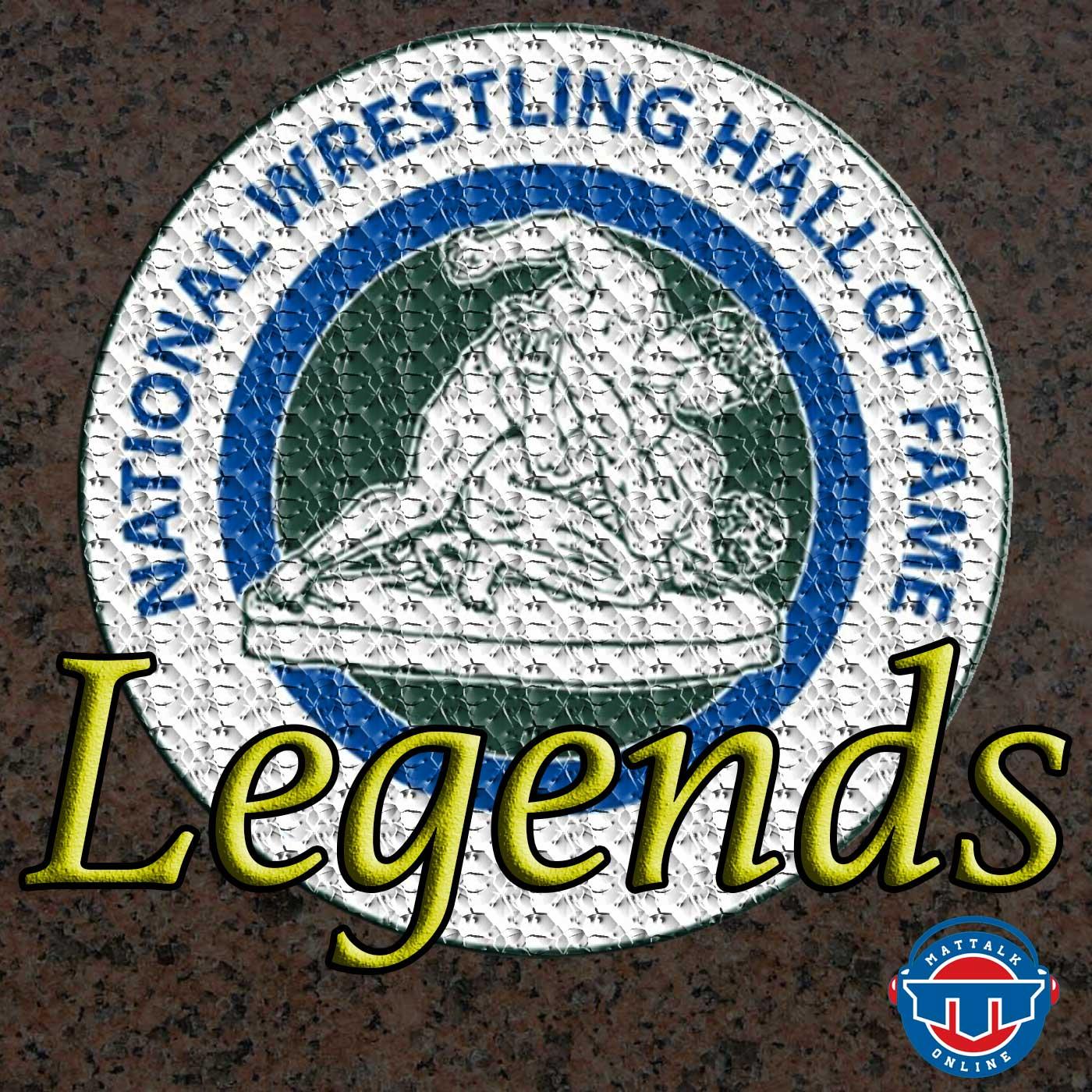 Legends: National Wrestling Hall of Fame show art
