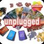 Artwork for GameBurst Unplugged - Fluxx and 7 Wonders