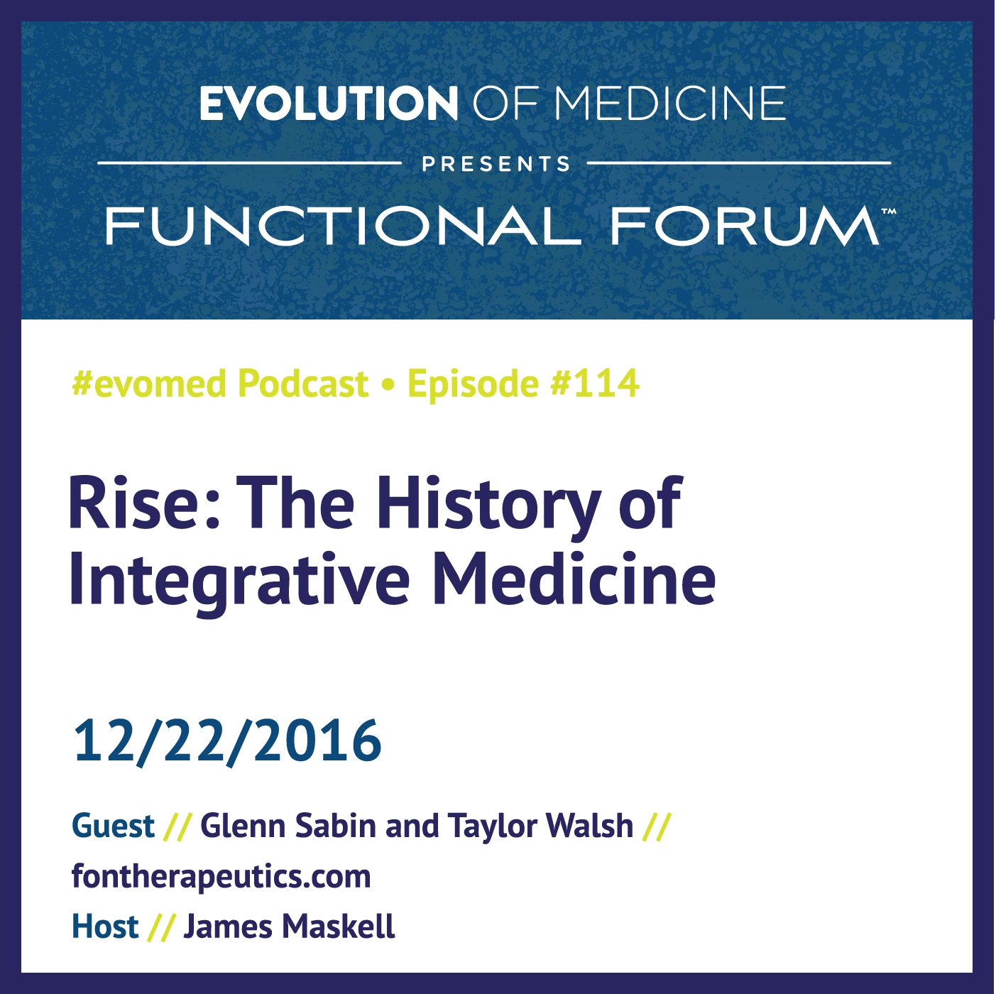 Rise: The History of Integrative Medicine