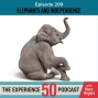 Artwork for E209 Elephants and Independence | What is weighing on you?