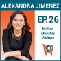 Artwork for An Insider's Guide to Working with Influencers to Sell Your Product with Alexandra Jimenez, Ep #26