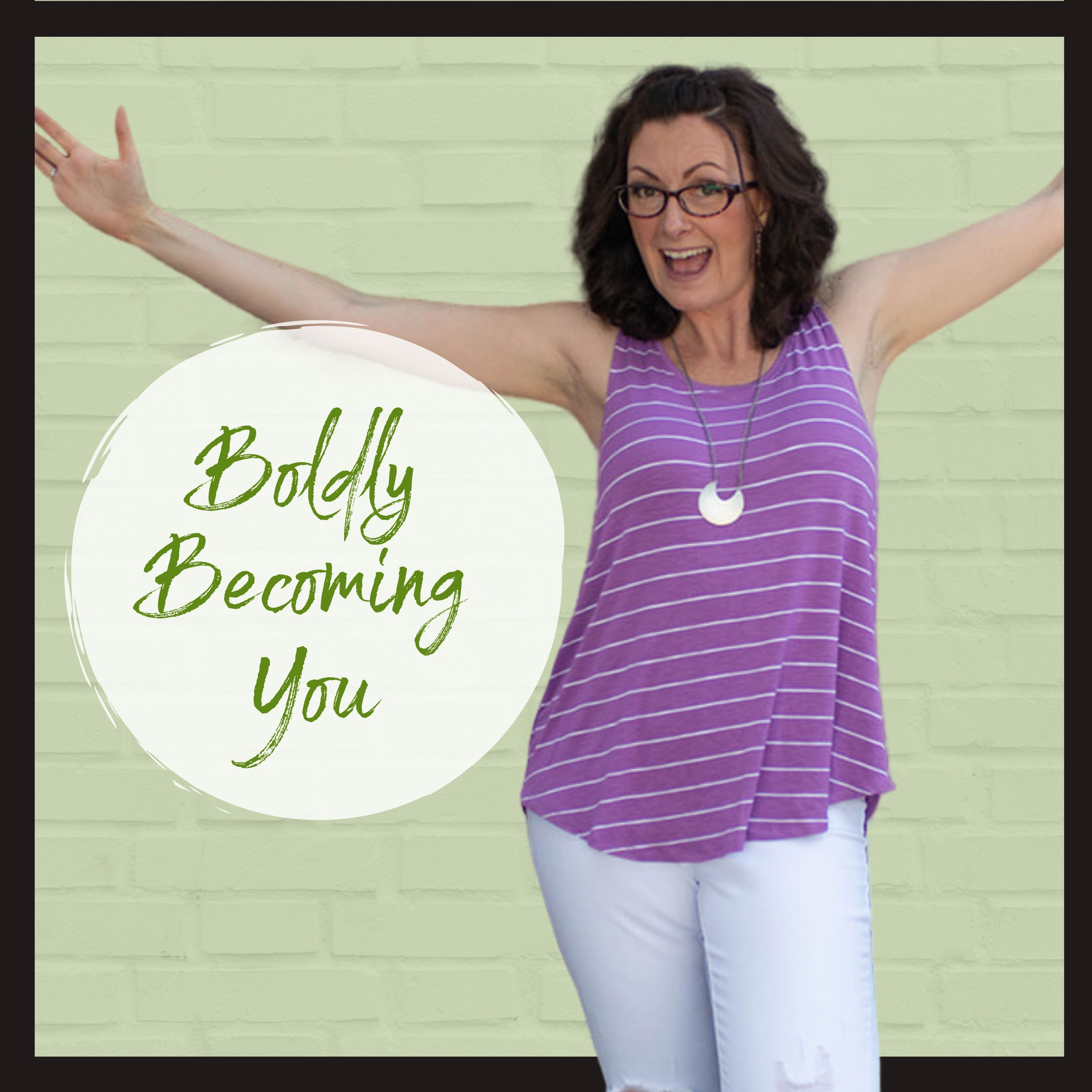 Boldly Becoming you show art