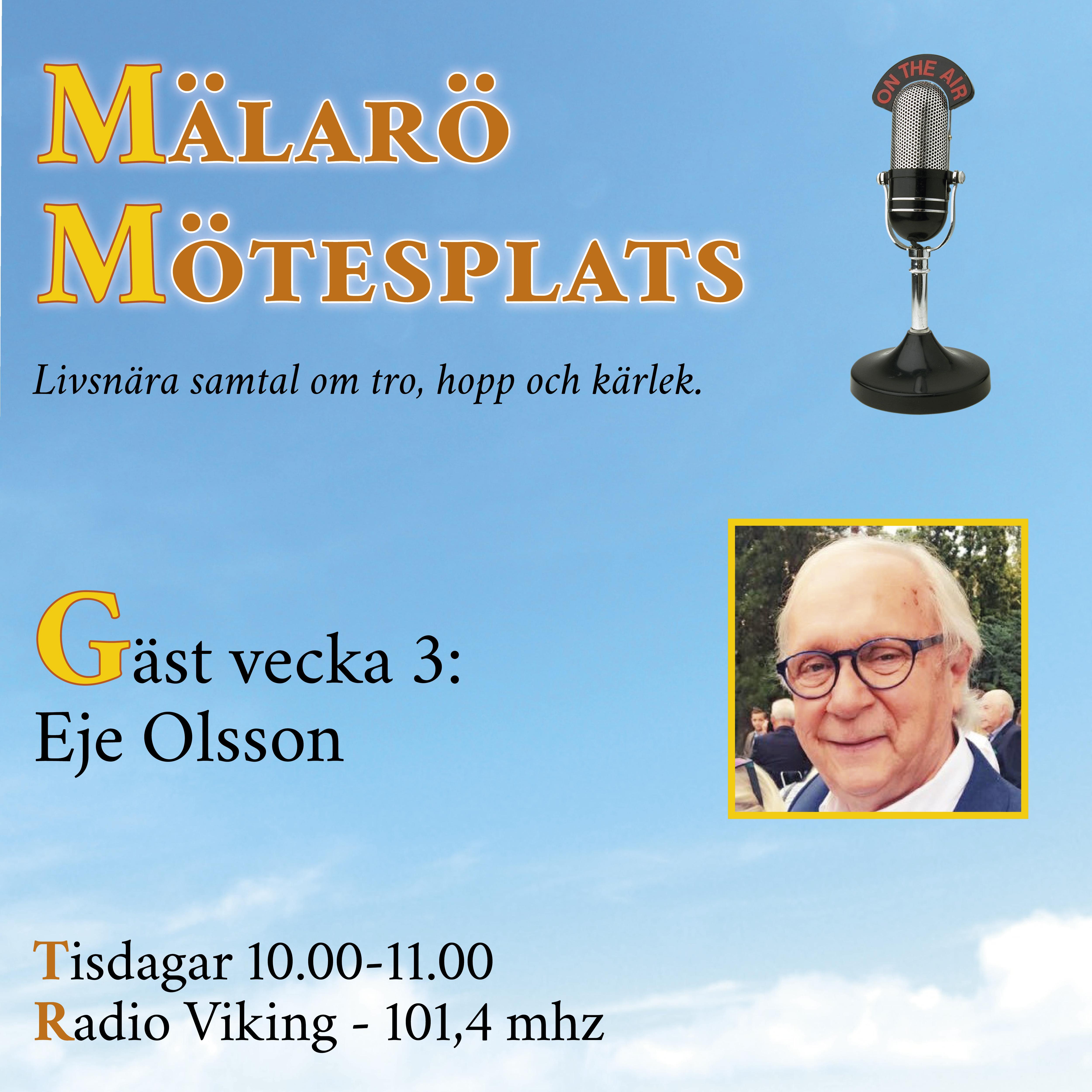 Möte med Eje Olsson