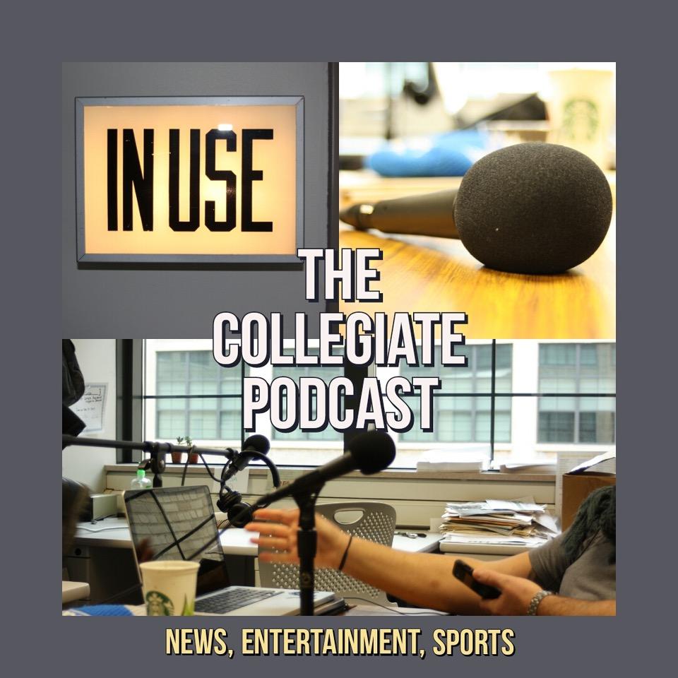 GRCC Collegiate Podcast show art