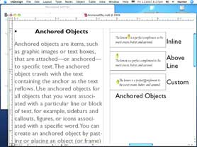 Another look at Anchored Objects in InDesign CS3