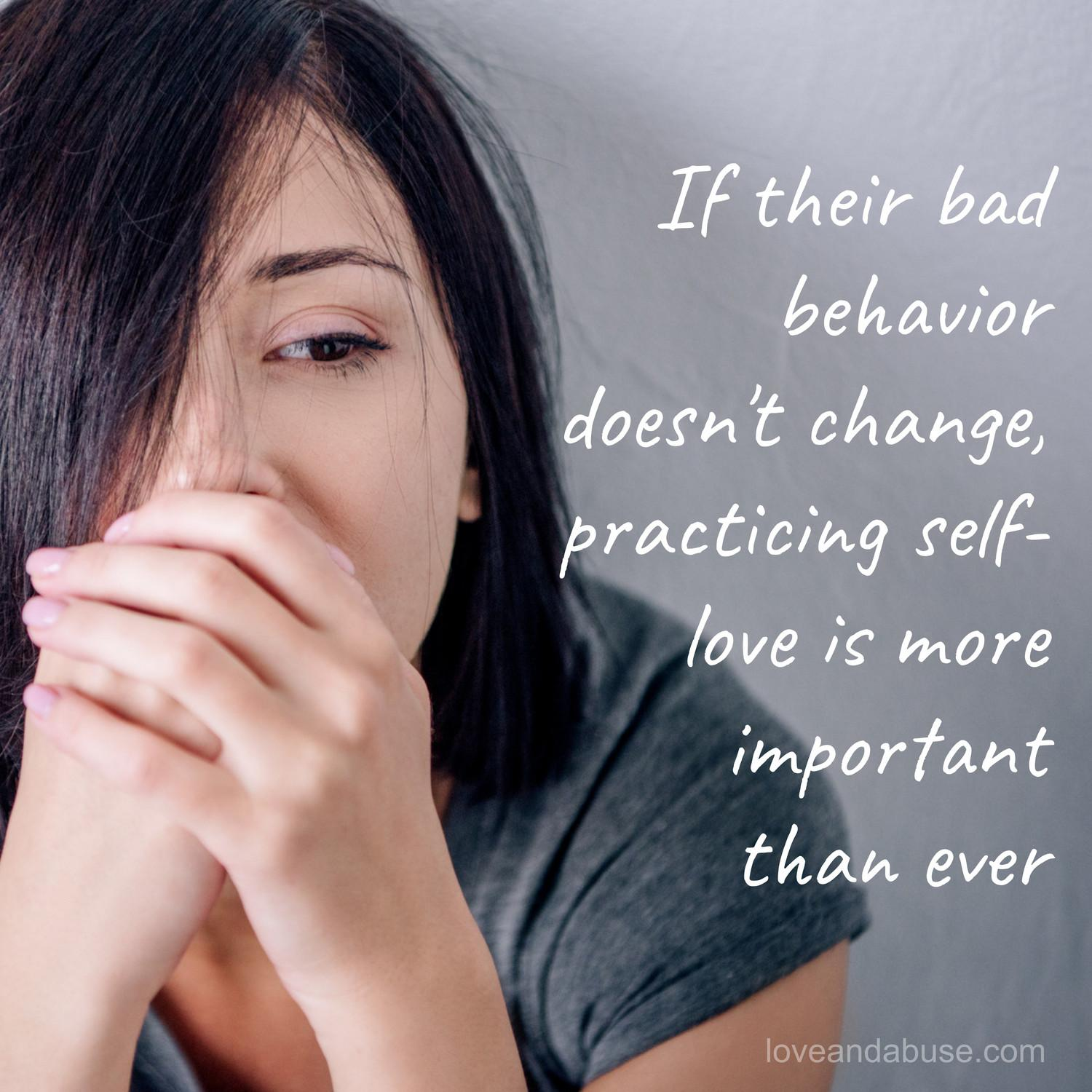 If you've tried everything to stop the hurtful behavior, what's next?