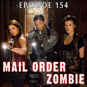 Mail Order Zombie: Episode 154 - Resident Evil: Afterlife, Med of the Dead, MOZ Family-submitted reviews