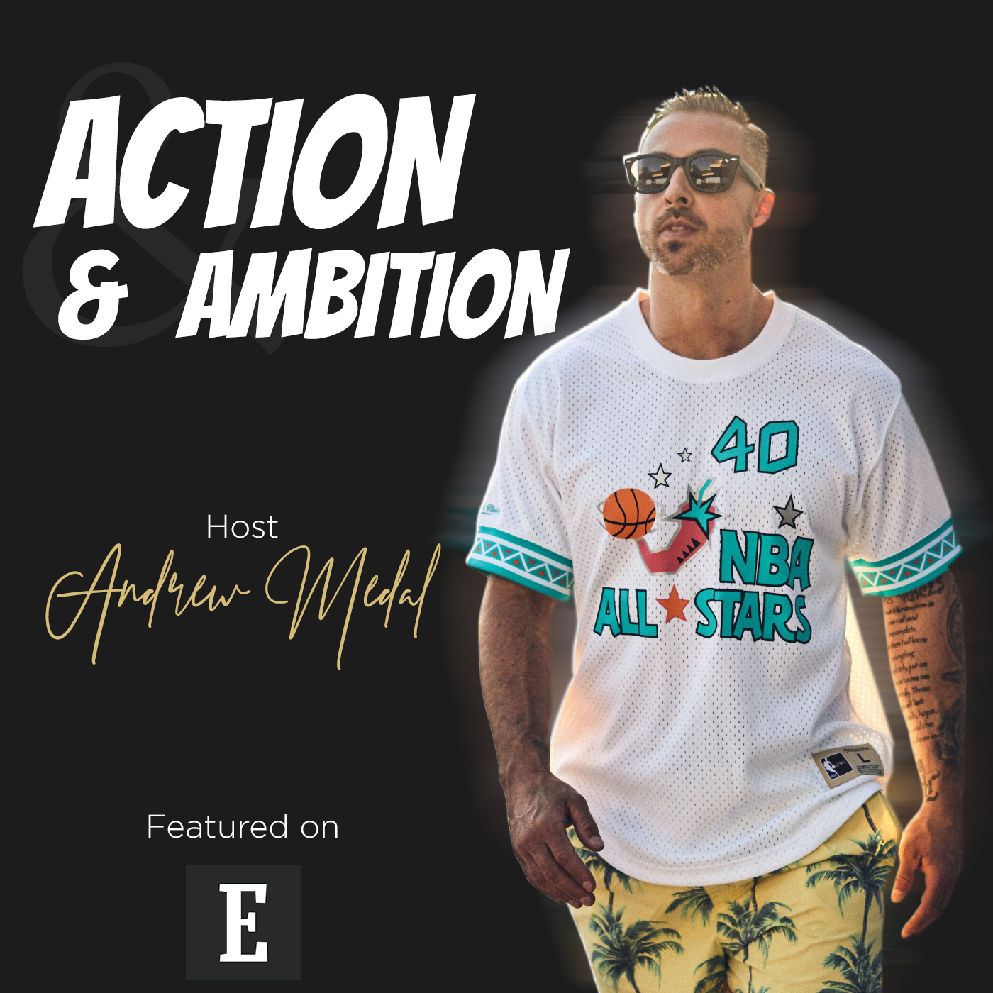 Action and Ambition show art