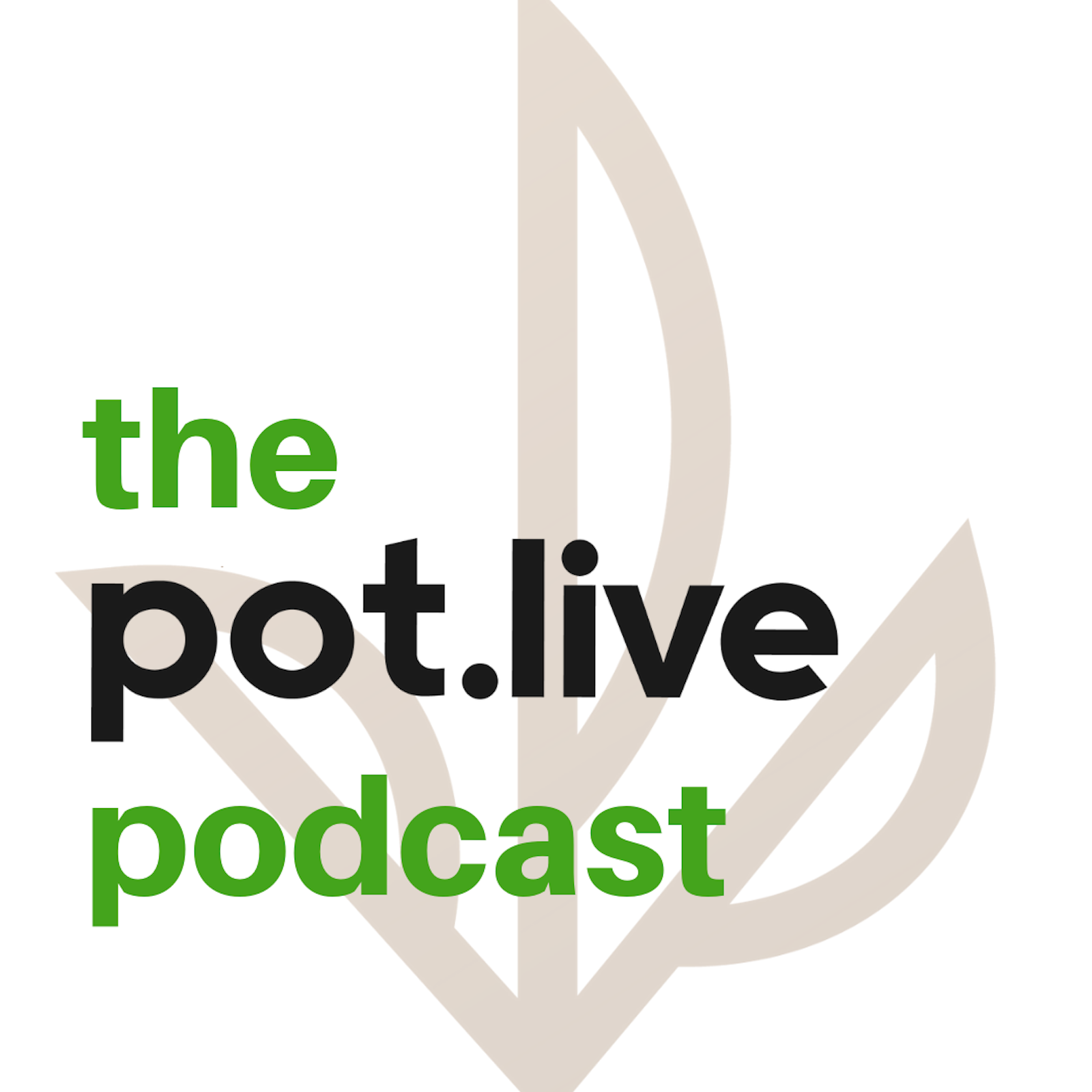The Pot.Live Podcast show art