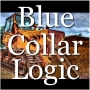 Artwork for Blue Collar Logic.  The Case Against Tattoos, The STUPID -our new victim-group, The Left Goes Cannibal, A Holiday Life-Hack for Conservatives, Top 5 Trump Triggers and The Male/Female Dance.