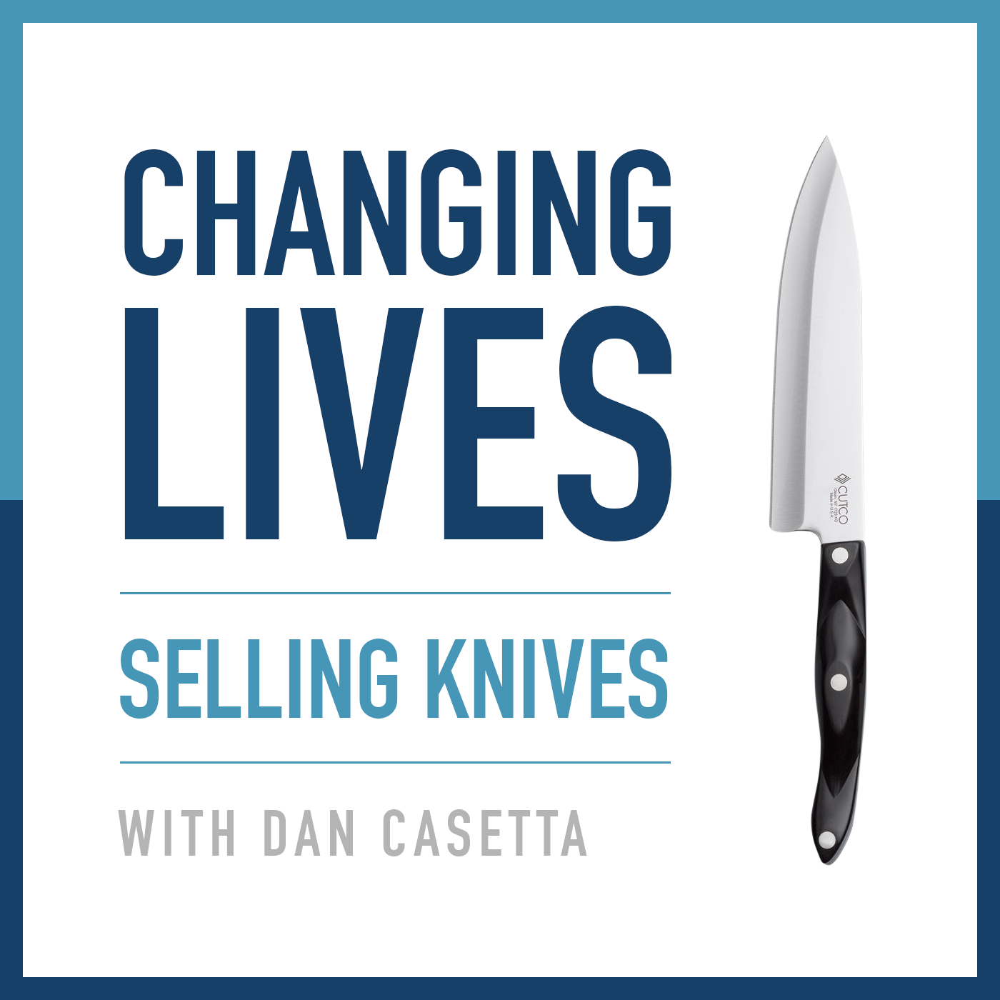 Changing Lives Selling Knives show art