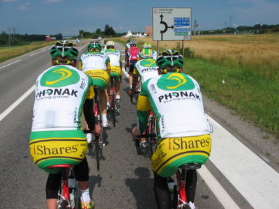 SimplyStu #31t: Tour de France Live.  Ride with Phonak. Team Intro