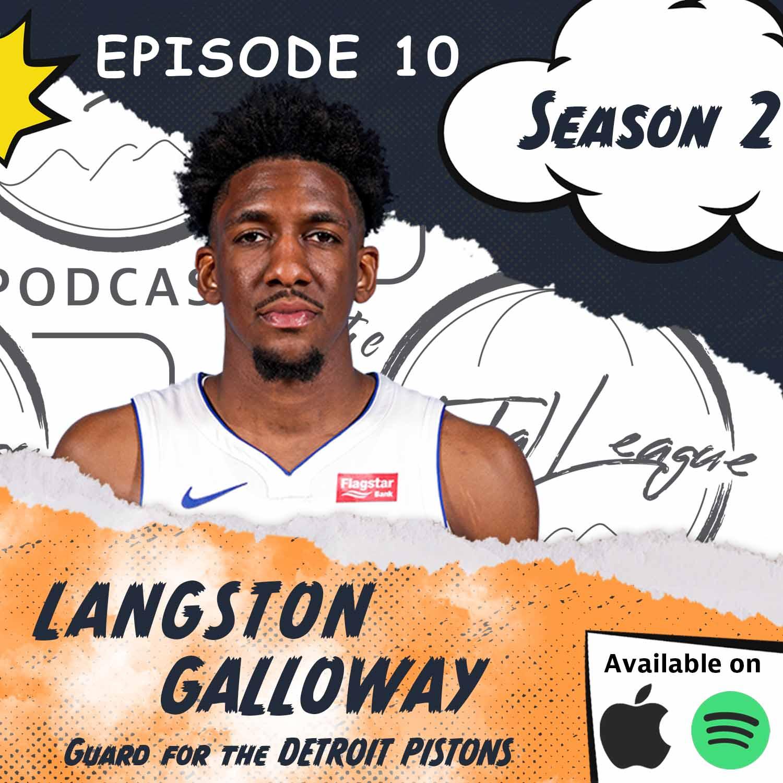 Langston Galloway chats Free Agency, NBA Title Odds and LG Kicks
