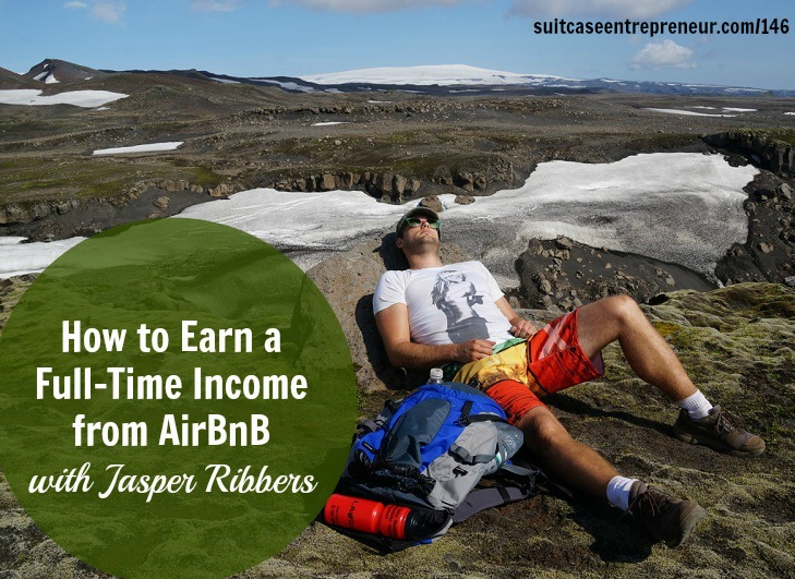 [TSE 146] How to Earn a Full-Time Income from AirBnB with Jasper Ribbers