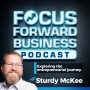 Artwork for Focus Forward Business Podcast Episode 7 with April Oury