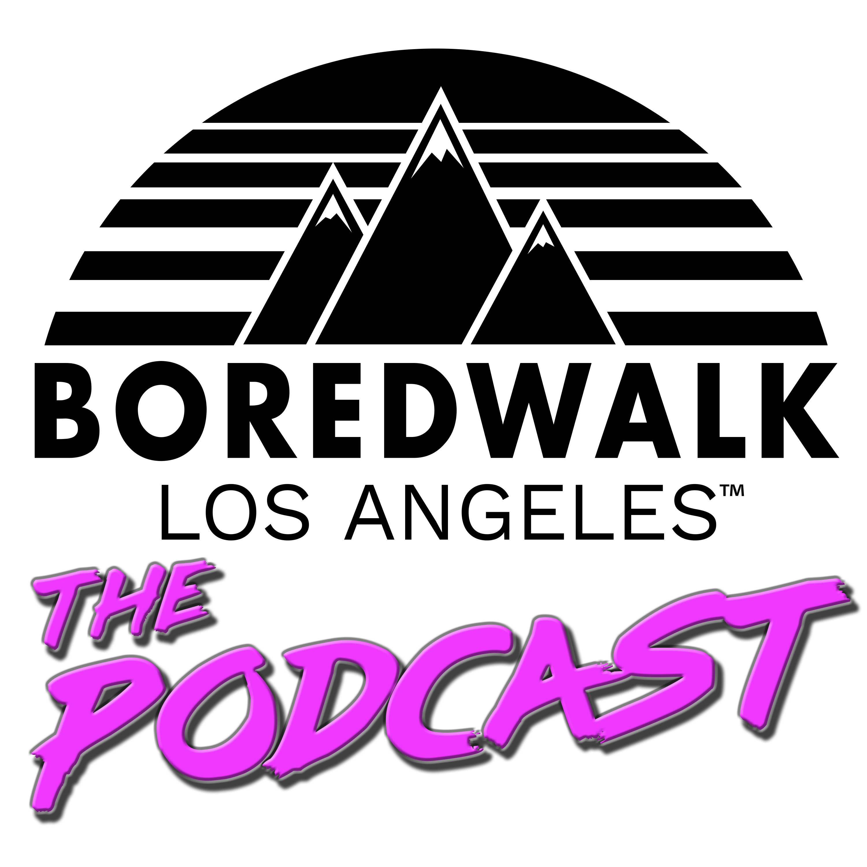 The Boredwalk Podcast show art