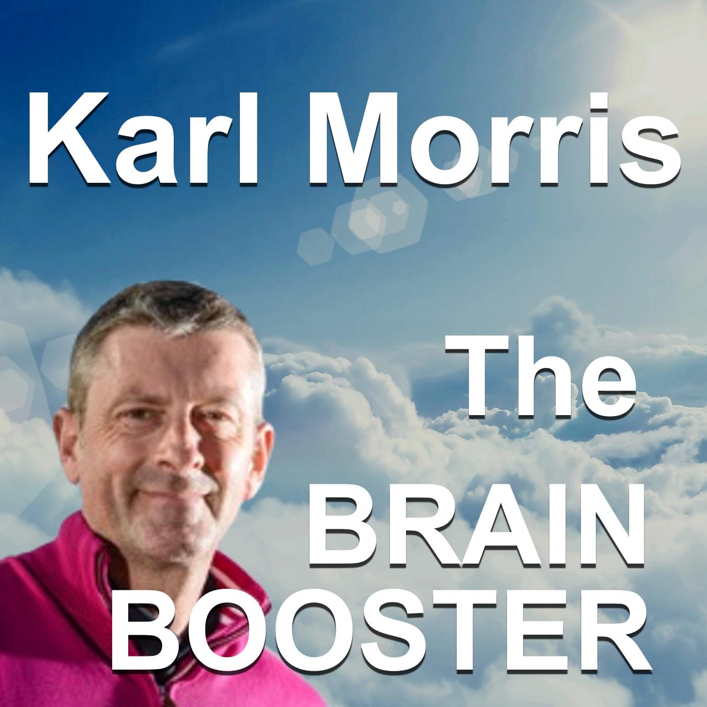 Karl Morris - The Brainbooster show art
